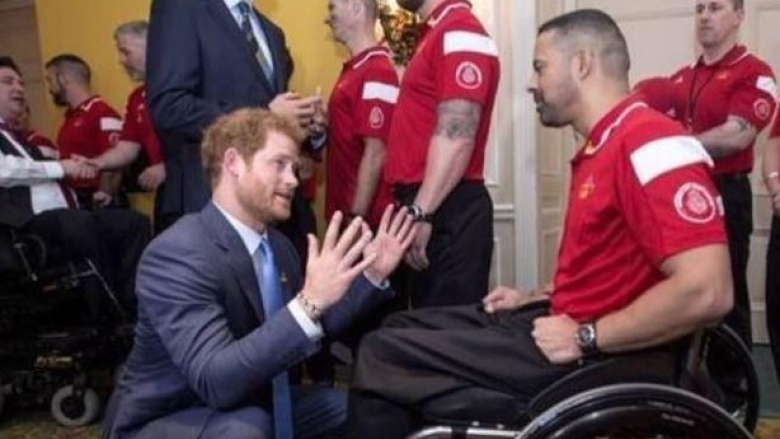 steve daniel and prince harry